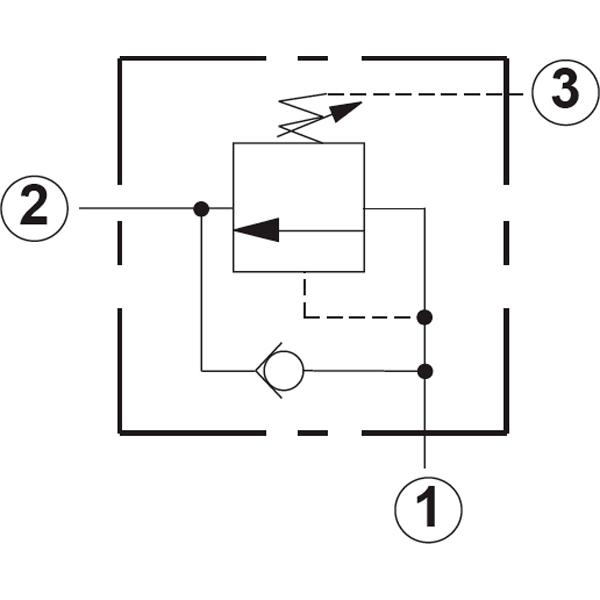 Клапан последовательности гидравлический, с обратным клапаном Sun Hydraulics