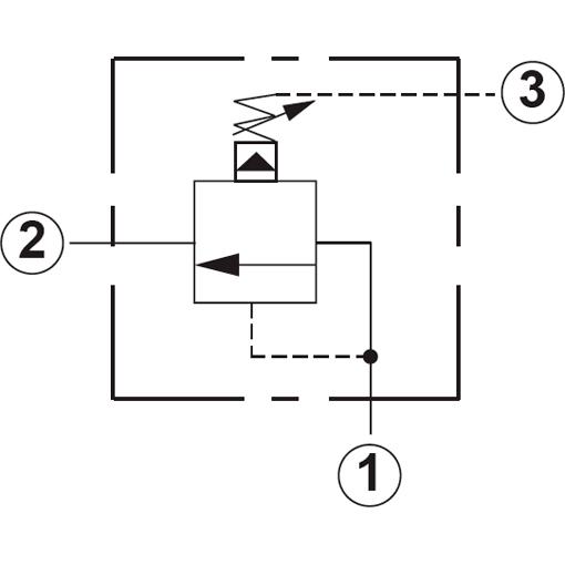 Клапан последовательности гидравлический Sun Hydraulics
