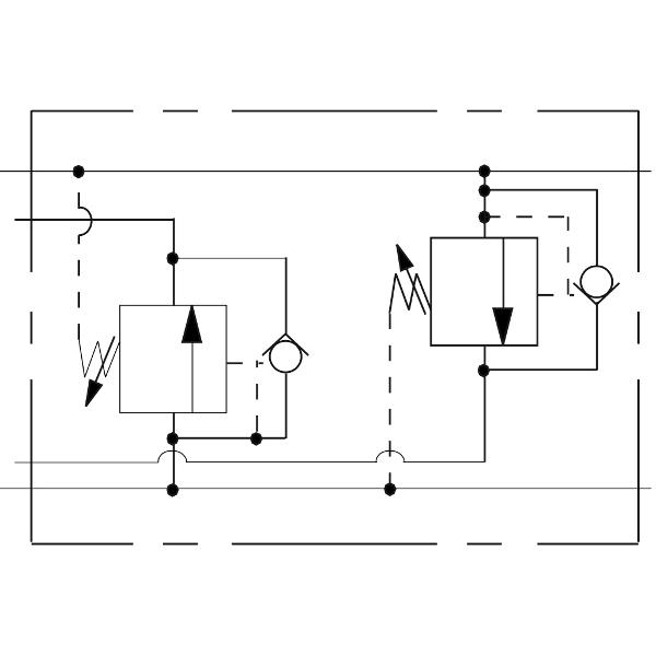 Клапан последовательности сдвоенный Sun Hydraulics